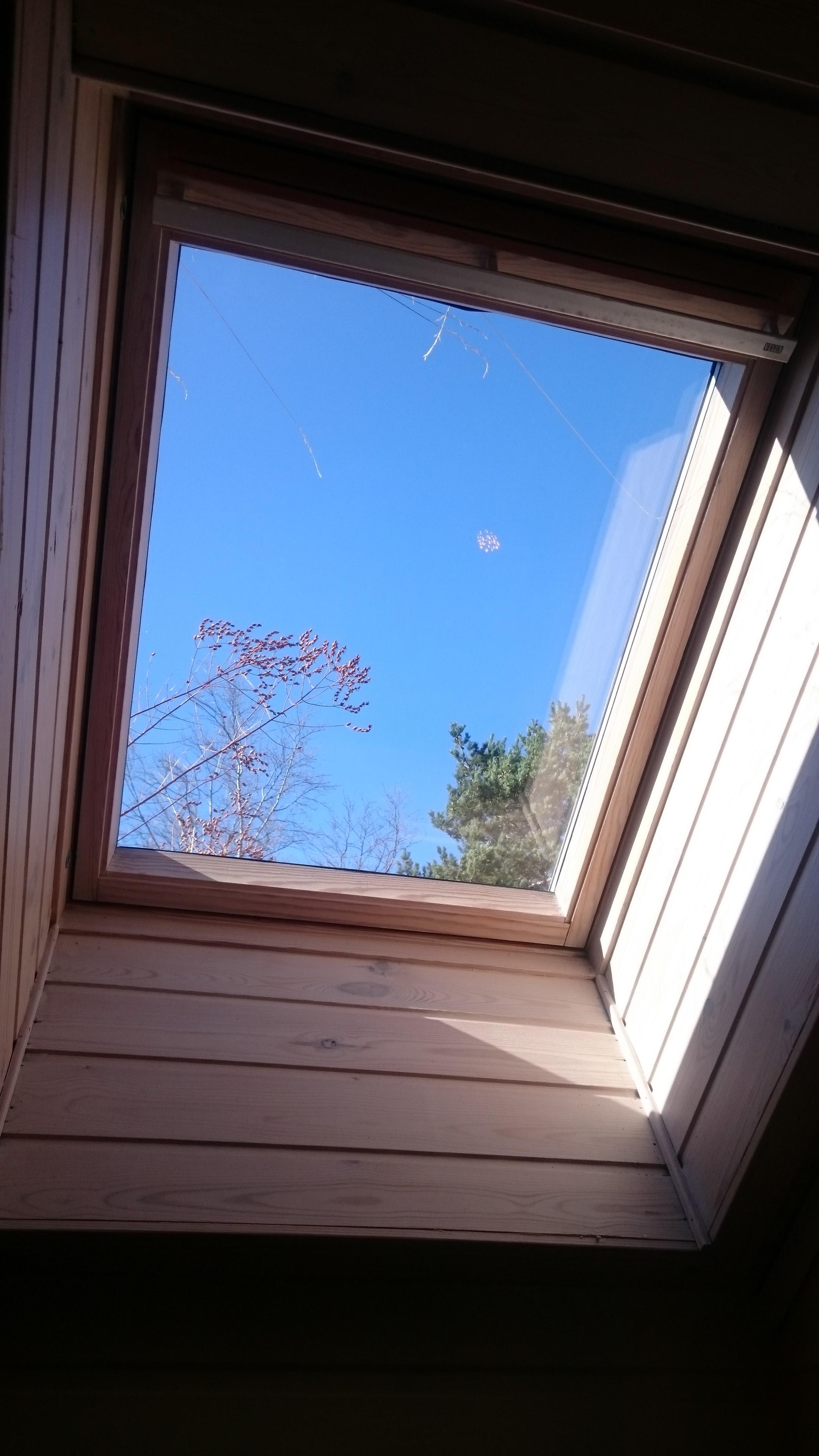 Klar utsikt mot himmelen igjen. :-)